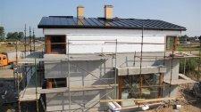 Pierwszy dach pokryty