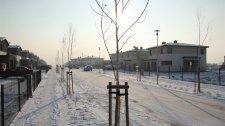 Pierwsze śniegi kolejnej zimy