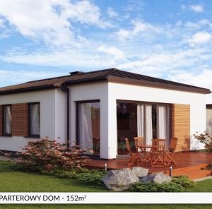 Parterowy dom B152 m²