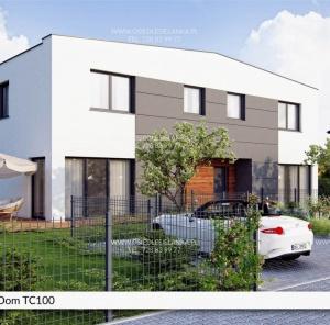 Piętrowy dom 100 m²