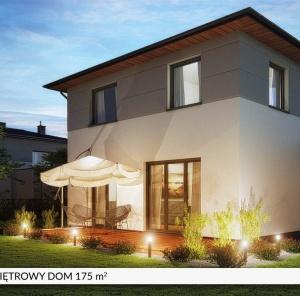 Piętrowy dom 175 m²