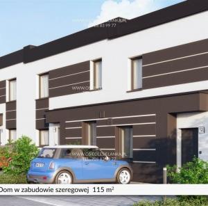 Piętrowy dom 115 m²