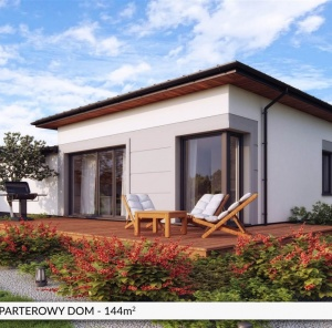 Parterowy dom 144 m²