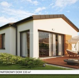 Parterowy dom 133 m²