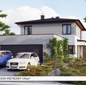 Piętrowy dom 199 m²
