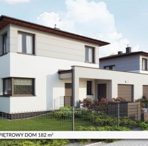Piętrowy dom 182 m²