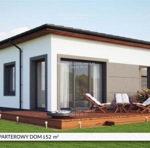 Parterowy dom 152 m²