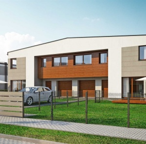 Segmenty bliźniacze 119 m²