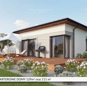 Parterowy dom 129 m²