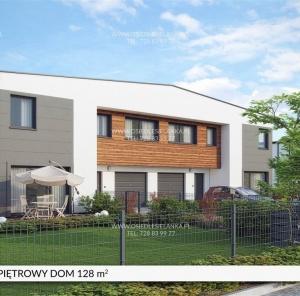 Piętrowy dom 128 m²