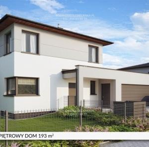 Piętrowy dom 193 m²