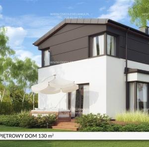 Piętrowy dom 130 m²