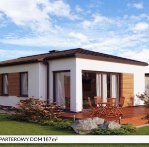 Parterowy dom B167 m²