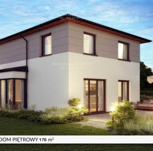 Piętrowy dom 176 m²