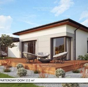 Parterowy dom 111 m²